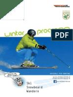 DSV Skischule Konstanz Winterprogramm 2013/14