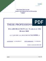 Elaboration TB RH SAMIR1