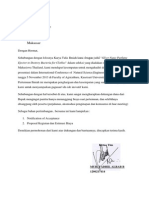 Surat Permohonan Dana