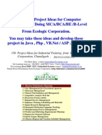 14259783 150 Sofware Project Ideas for Students of Computer Science