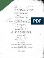Cambibi Trio Oboe
