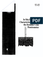 199305 - Foundation Design From Dynamic Penetration Test