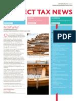 BDO Indirect Tax News, September 2013