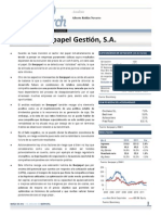Iberpapel Informe in-Research 2012
