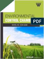 Environmental Control Chambers