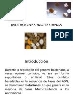 MUTACIONES BACTERIANAS