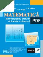 Matematica - Manual Clasa a XII-A - Neodion