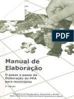 Manual Elaboracao PPA Municipios