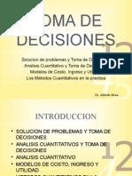 Toma de Decisiones IV