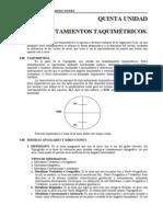 CAPITULO 5- LEVANTAMIENTO TAQUIMETRICOS