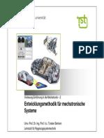 Mechatronik_2_Entwicklungsmethodik