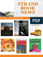 Strand Book News Oct 2013