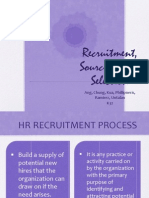 Recruitment, Sourcing, And Selection