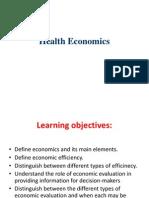 Health Economics 2013