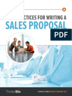 Best Practices for Writing a Sales Proposal
