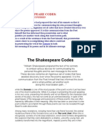 The Shakespeare Codes