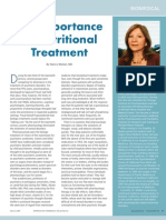 The Importance of Nutritional Treatment by Nancy Mullan, MD