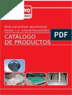 Soluciones Quimicas Para Construccion Catalogo Drizoro