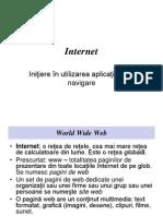 Suport Curs V Internet - Initiere in Utilizarea Aplicatiilor de Navigare.ppt