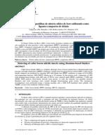 Sinterização de pastilhas de nitreto cúbico de boro utilizando como ligantes compostos de titânio.