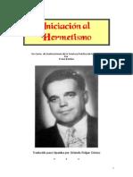 Franz Bardon - Iniciacion Al Hermetismo....