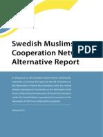 Swedish Muslims in Cooperation Network Alternative Report