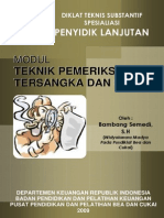 Modul PENYIDIK Teknik Pemeriksaan Tersangka Saksi 2010