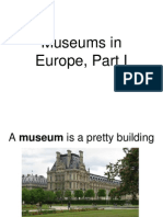 Museums in Europe 1