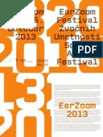 Earzoom 2013 Program