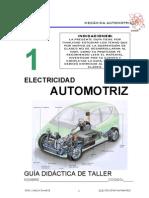 GUIA DE TALLER AUTOMOTRIZ SOBRE ELECTRICIDAD PRIMER AÑO CARLOS DUARTE