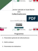 Presentation Collectiveaccess