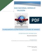 Resumen Estrategia Del Oceano Azul y Primer Capitulo