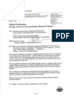 IRB Minutes (Redacted) for Markingson Death May and June 2004