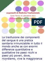 Lezione 1 Parole Chiave Medicina Trasfusionale (1)