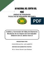 ANÁLISIS Y CORRECCION DE FALLAS 1.