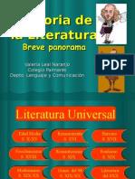Historia de La Literatura II