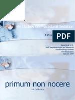 An Update on Procedural Sedation