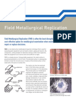 SES - Field Metallurgical Replication