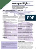 European Air Passenger Rights 2005