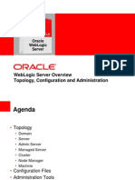 Oracle Weblogic Server Overview - Topology, Configuration & Aadministration