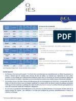 Flash spécial sur les marchés - point hebdomadaire - 2013 10 11 BdP