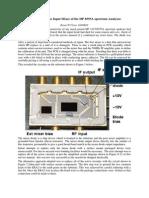 HP Spectrum Analyzer 141T Mixer