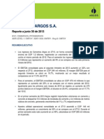 Cementos Argos 2T2013 Reporte ESP VF