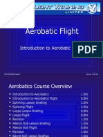 1 Introduction to Aerobatics