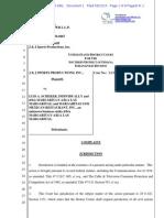 Complaint-J & J SPORTS PRODUCTIONS, INC. v. SCHEKER, et al.pdf