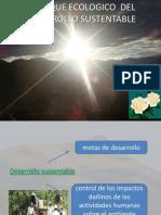 Enfoque Ecologico Del Desarrollo Sustentable