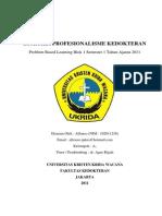 PBL 1.1 - Bioetika Profesionalisme Kedokteran
