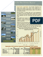 Market Update Newsletter - September 2013
