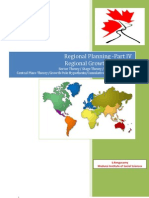 Regional Planning Part IV Regional Growth Theories
