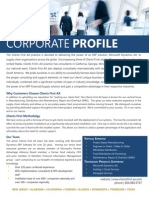 Clients First AX Corporate Profile